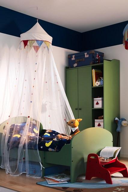 кровать с балдахином, детская кровать, кровать для подростка