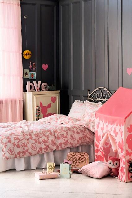 комната для девочки, интерьер детской для девочки, девчачья комната, розовая комната