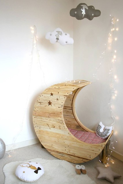 необычные кроватки, детская мебель, ремонт в детской
