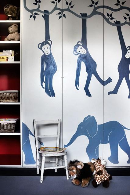 декор детской мебели, шкаф в детскую комнату, шкаф для ребенка