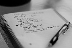 список продуктов, покупки