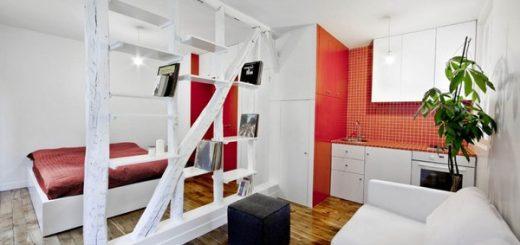 идеи для квартиры студии, маленькая квартира