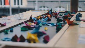 как собрать оригами