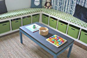 как организовать детские игрушки