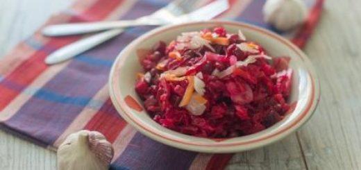 винегрет салат классический