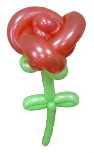 как делать розы из шаров